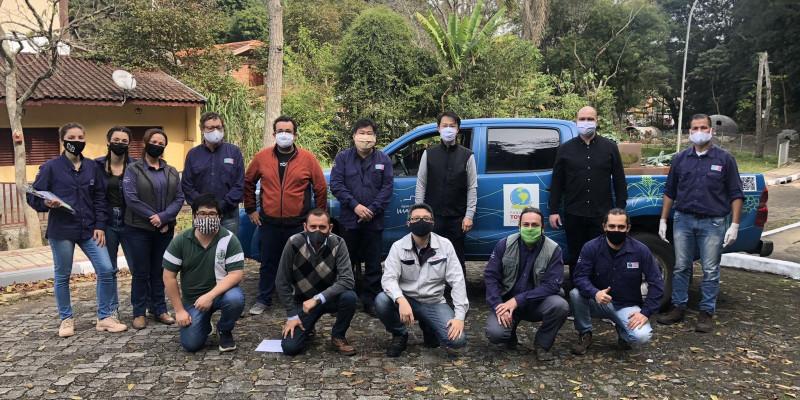 Ajuda Humanitária se estende a mais um município da Mantiqueira, Gonçalves (MG)
