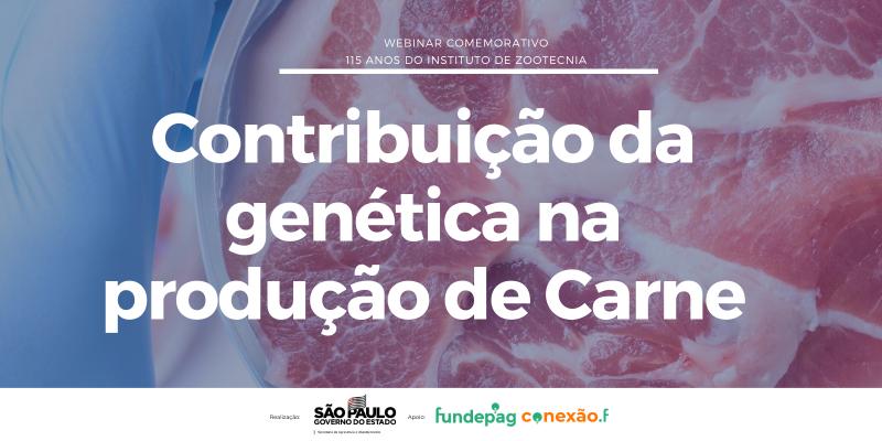 Webinar: Contribuição genética na produção de carne