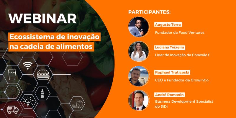 Webinar | Ecossistema de inovação na cadeia de alimentos