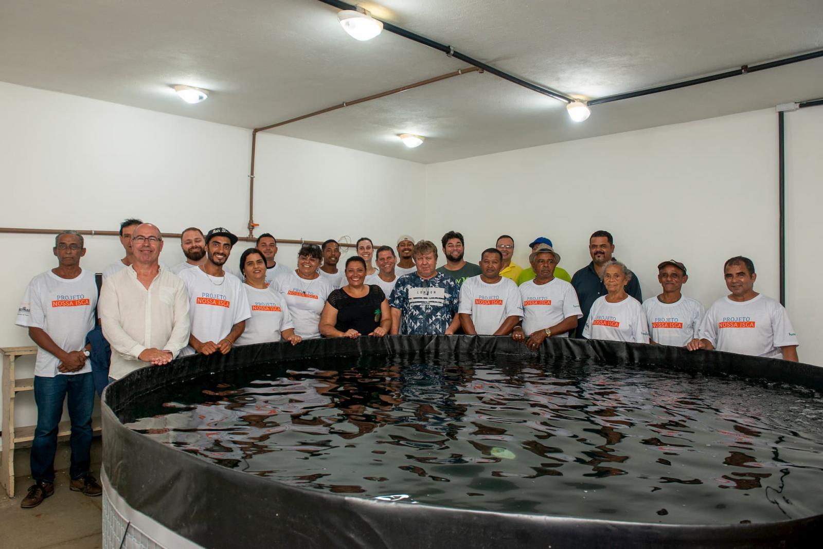"""Imagem: Fundepag apoia projeto """"Nossa Isca"""", da VLI"""