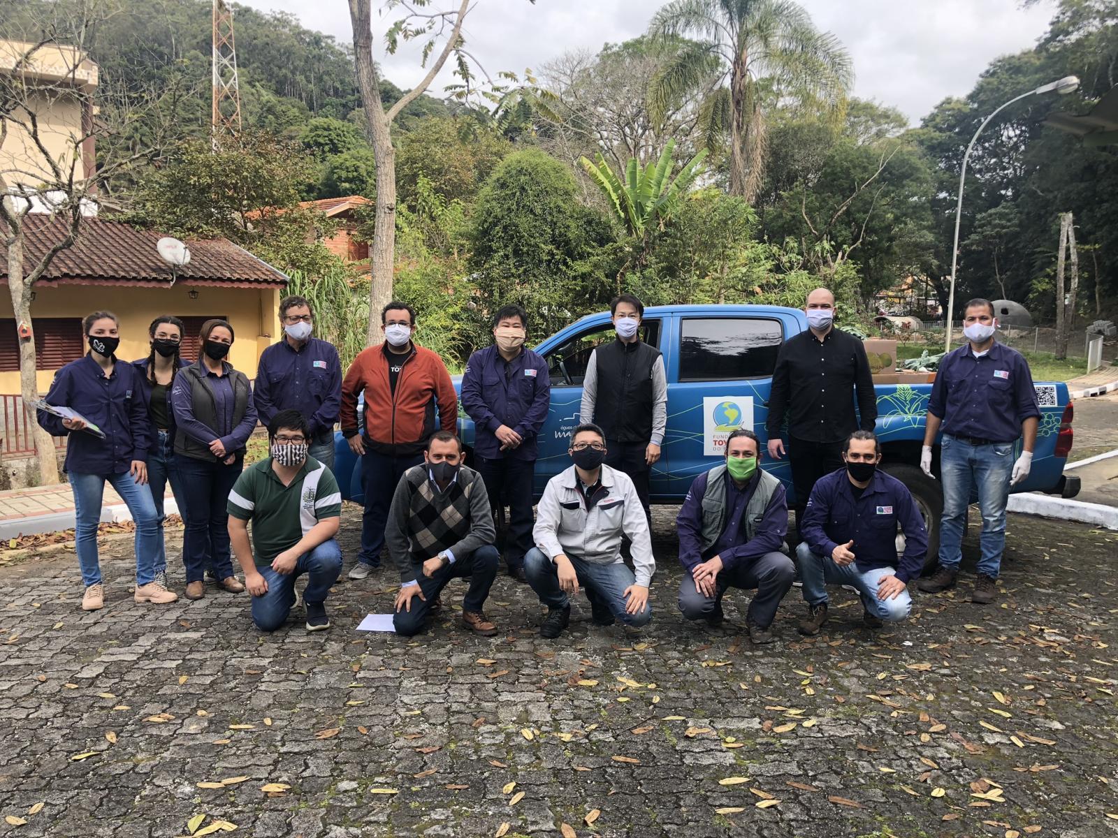 Imagem: Ajuda Humanitária se estende a mais um município da Mantiqueira, Gonçalves (MG)